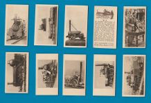 Collectable cigarette cards The Railway Centenary 1925